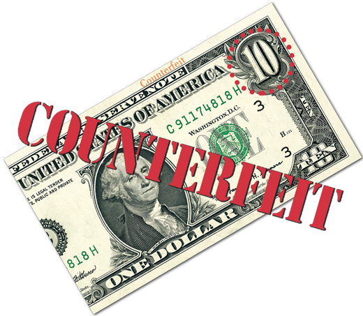 best paper for counterfeit money The best way to determine whether a note is genuine is to rely on the security  if  you end up with a counterfeit note, you will lose that money.